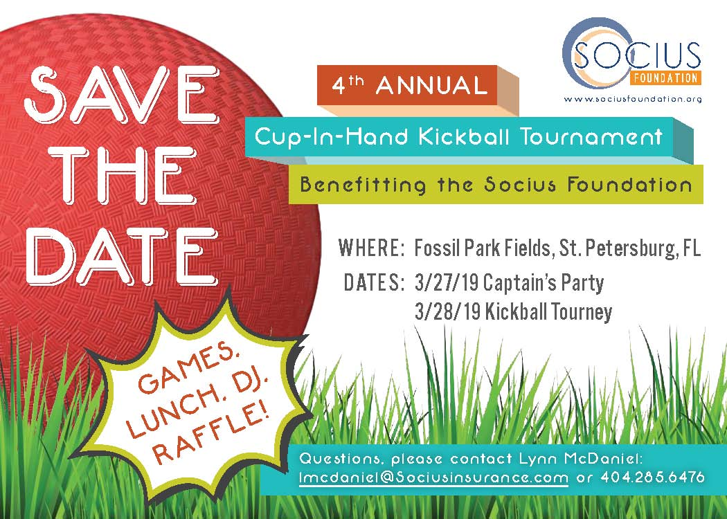 Save the Date 4th Annual Kickball
