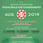 Texas Hold'Em Tournament Flyer - 2019
