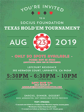 Texas Hold'Em Tournament Flyer - 2019