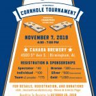 Corn Hole Tournament Flyer