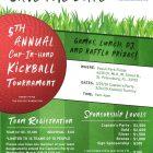 5th Annual Kickball Flyer