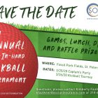 Save the Date - 5th Annual Kickball